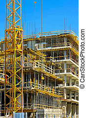 Construction skyscraper