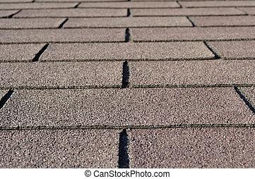 construction:, specificera, av, bältros, på, hus, rooftop.