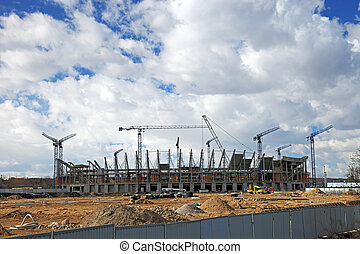 construction, stade