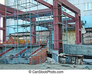 Construction Steel Frame