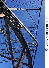 Construction Steelwork Steel framework structure