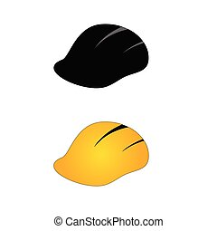 construction tin hat vector