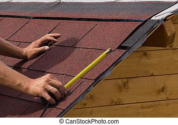 construction, toit