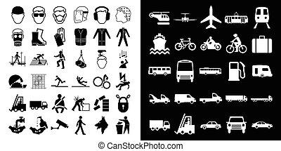 construction, transport