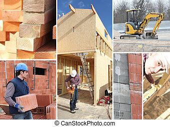 construction, travaux