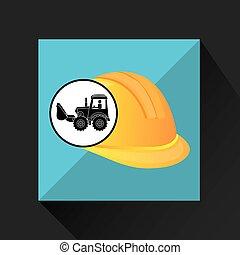 construction truck concept helmet design