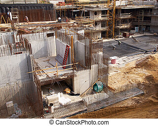 construction urbaine, site