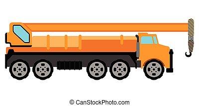 Construction vehicle image