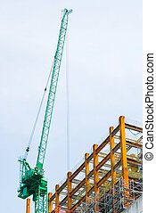 Construction with enforced concrete steel