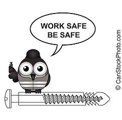 Construction work safe