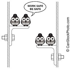 Construction work safe
