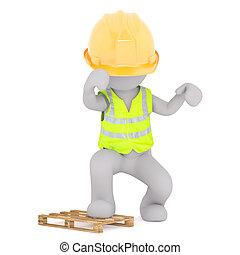 Construction worker anger