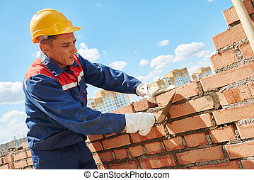 construction worker bricklayer - construction worker. mason ...
