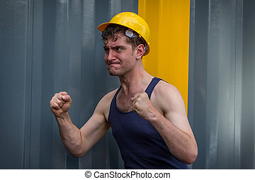 Construction Worker Man