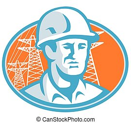 construction-worker-pylon - Illustration of a construction...