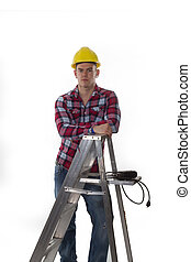 construction worker ready for work