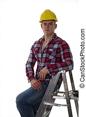 construction worker ready