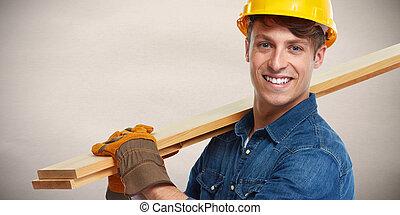 Construction worker.