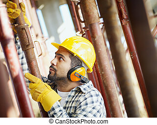 construction worker - latin american construction worker...