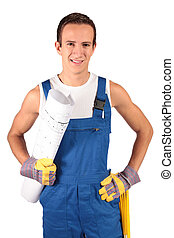Construction worker trainee