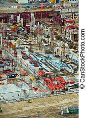 Construction yard