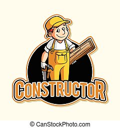 constructor illustration design
