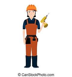 constructor, vrijstaand, avatar