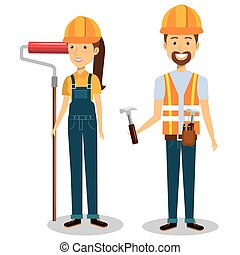 constructores, grupo, avatars, caracteres