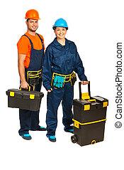 constructors, 工人, 隊