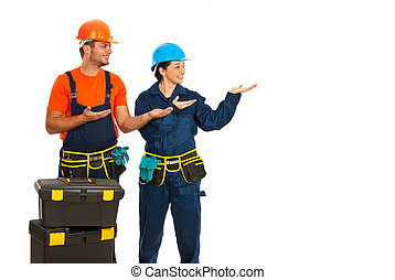Constructors making presentation - Constructors workers...