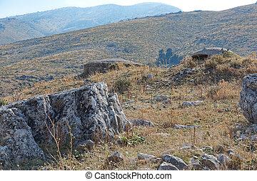 construido, era, carboneras, militar, concreto, albania, ...