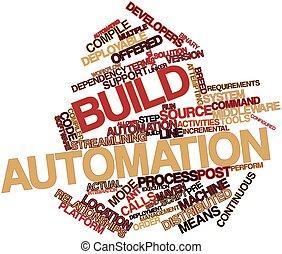 construir, automação