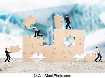 construir, negócio