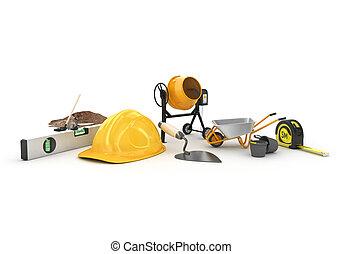 construire matériels