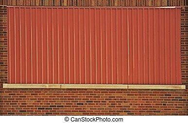 construisant briques, mur