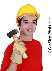 construtor, malho