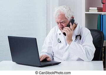 consulation, telefone