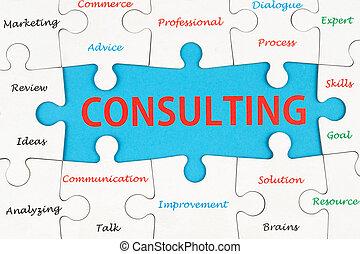 consultant, concept
