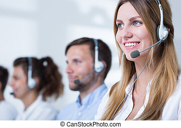 Consultant in call center