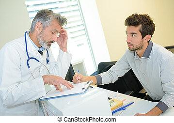 consultant, patient, docteur