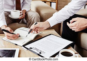 consultation, business