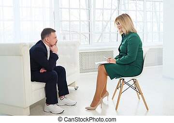 Consultation of a psychologist.