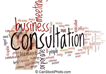 Consultation word cloud