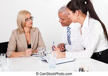 consultazione, affari