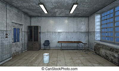 Consulting room - Image of a consulting room