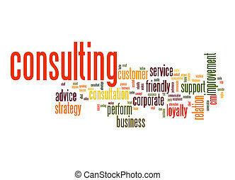 Consulting word cloud