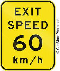 consultivo, australia, salida, velocidad