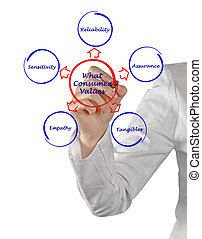 consumatore, cosa, valori