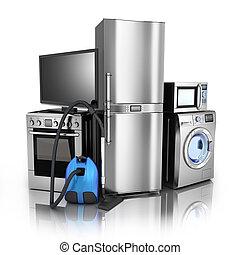 Consumer electronics stell - Consumer electronics. TV,Fridge...