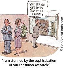 consumidor, investigación
